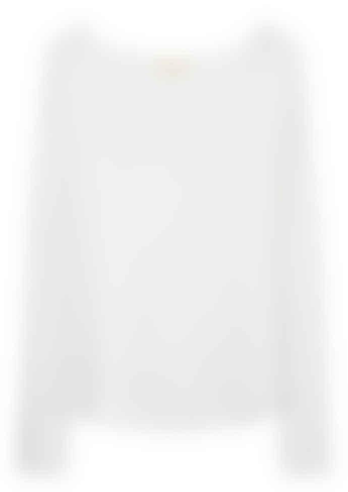 American Vintage White Sonoma Round Neck Top