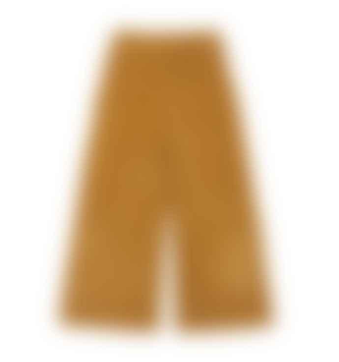 Le Petit Germain Velvet pants in mustard