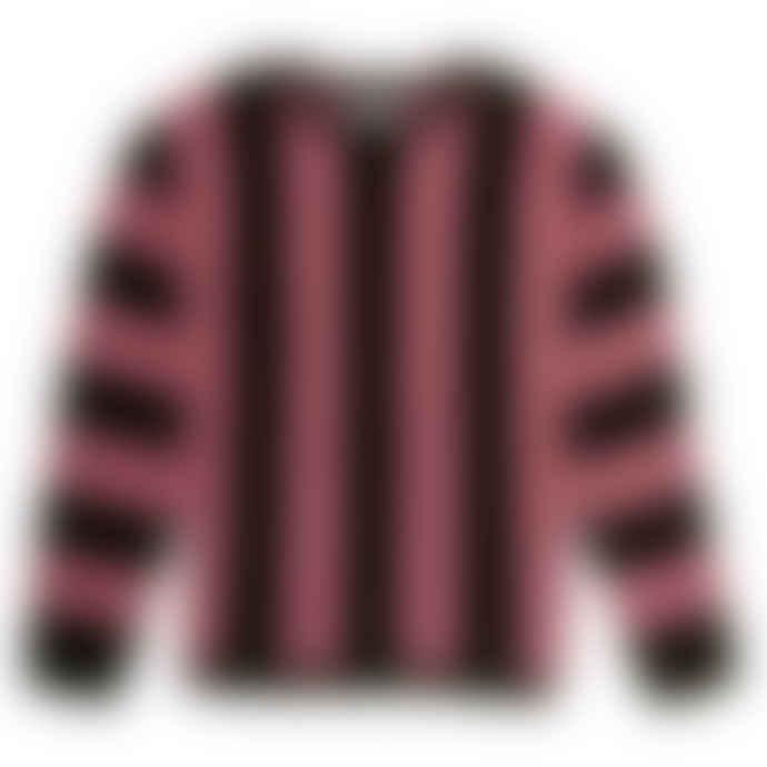 Saturdays NYC Light Plum Everyday Vert Horizontal Sweater