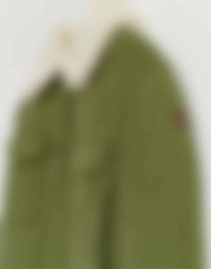 Bellerose Khaki Green Poppies Jacket