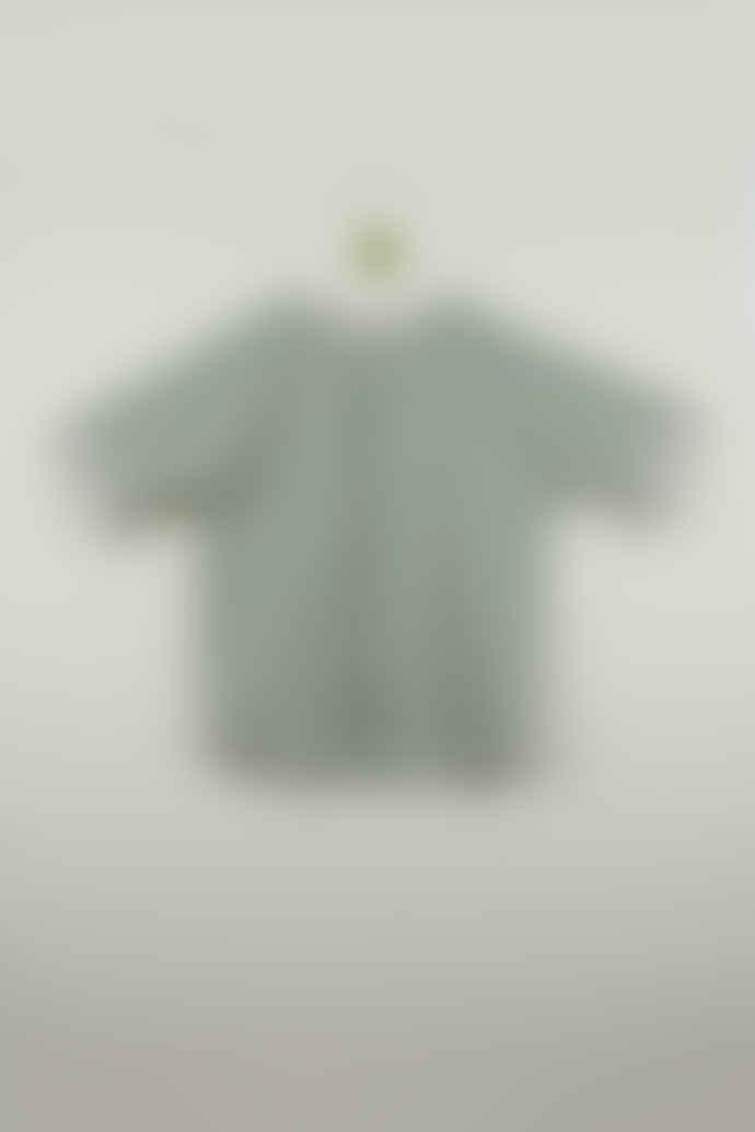 Popelin Green Fist Child Shirt