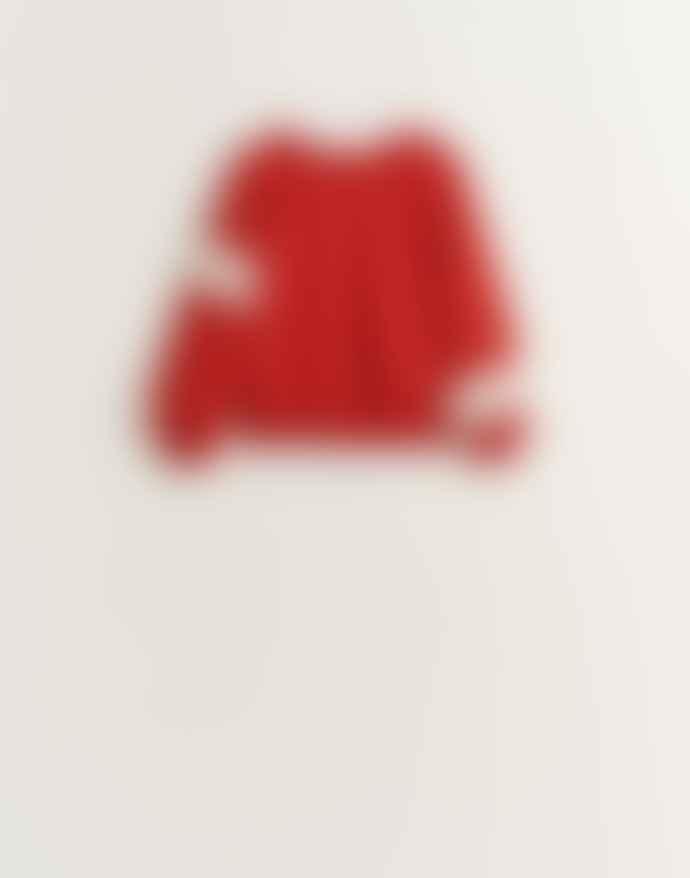 Bellerose Red Faida Sweatshirt