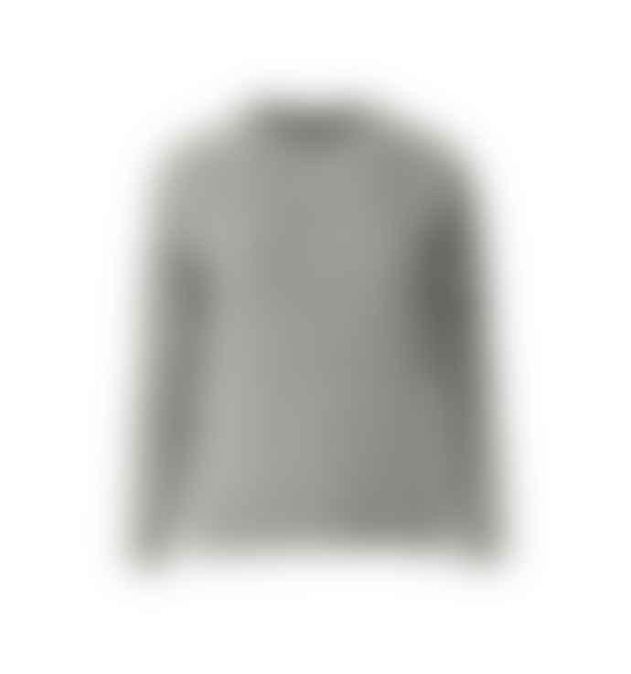 Minimum Grey Round Neck Kita Sweater