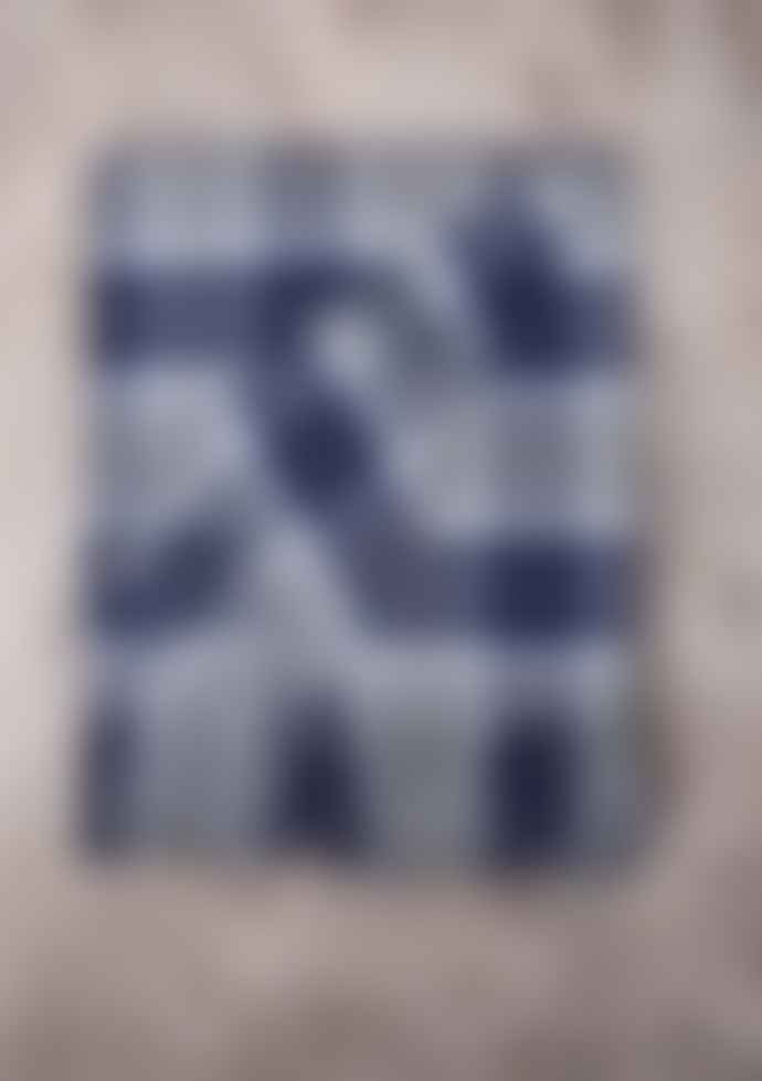 The Tartan Blanket Co. Bannockbane Silver Tartan Lambswool Blanket