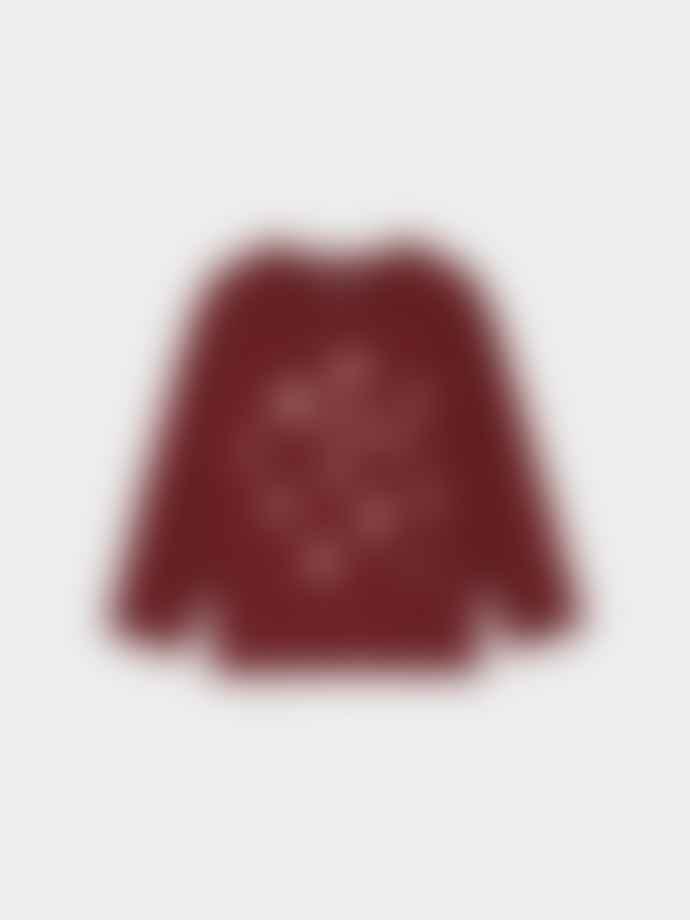 Bobo Choses Garnet Comet Benny Long Sleeve T-Shirt