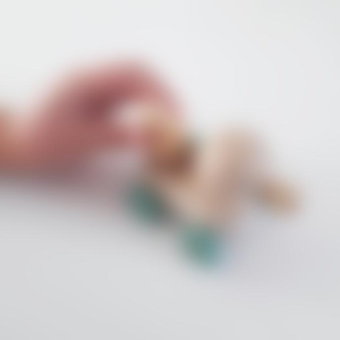 Kids Boetiek Nordic Wooden Mum and Baby Duck Toy