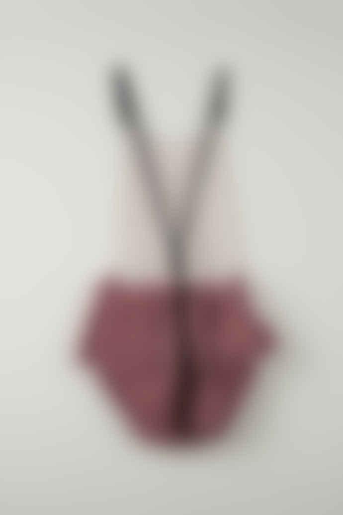 Popelin Pink Ruffles Clay Frog Dress