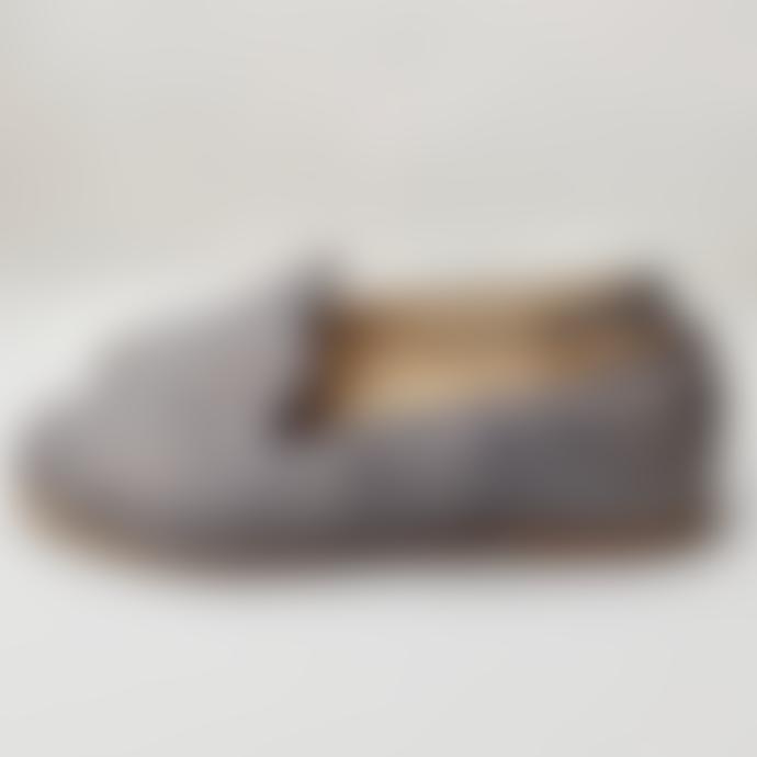 Belle Chiara Rustic Blue Linen Cary Shoes