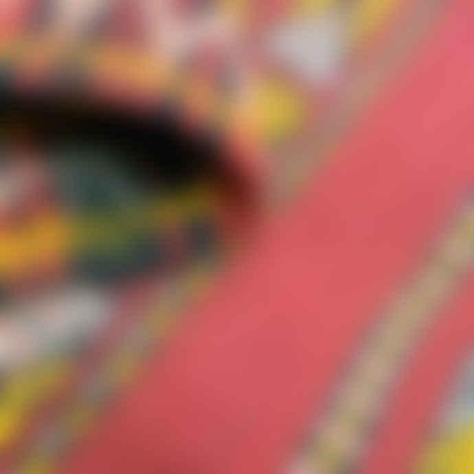 Mahala 120 x 60cm Small Vintage Red Moroccan Kilim Rug