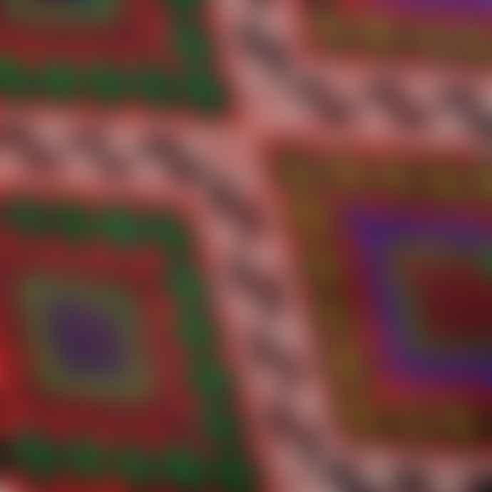 Mahala 225 x 167cm Large Vintage Red Wool Turkish Kilim Rug