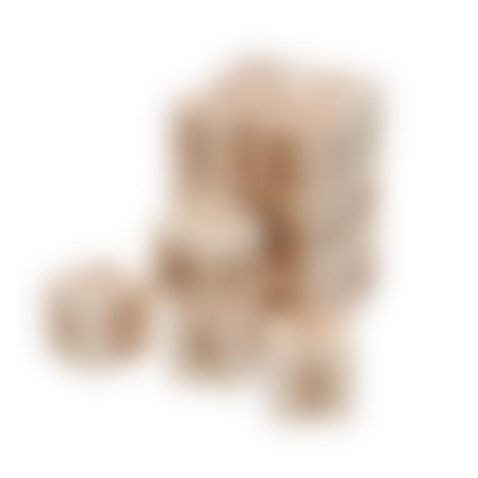 Sebra 16 Pieces Wooden Alphabet Blocks