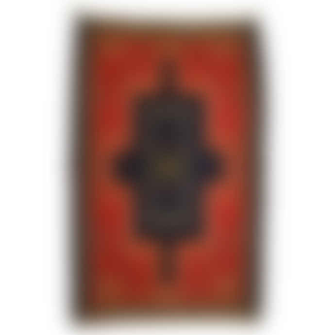 Mahala 110 x 68cm Small Vintage Iranian Kilim Rug