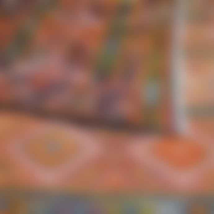 Mahala 283 x 177cm Large Vintage Moroccan Kilim