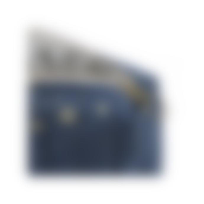 Nobodinoz Night Blue Golden Stella Stars Travel Toilet Bag