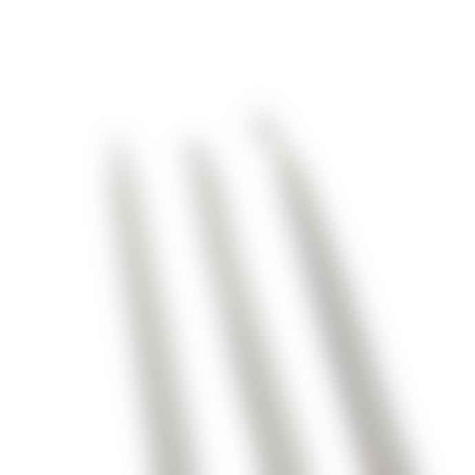 Sting In The Tail Two Bundles of Medium 250mm White Paraffin Taper Candles