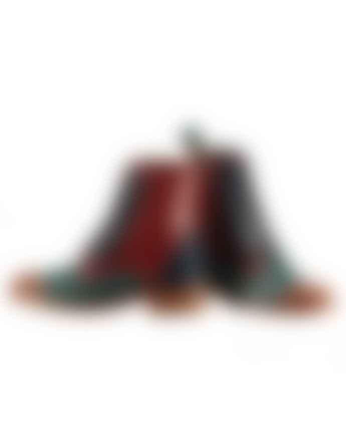 Belle Chiara Multicolor Louise Napa Boots
