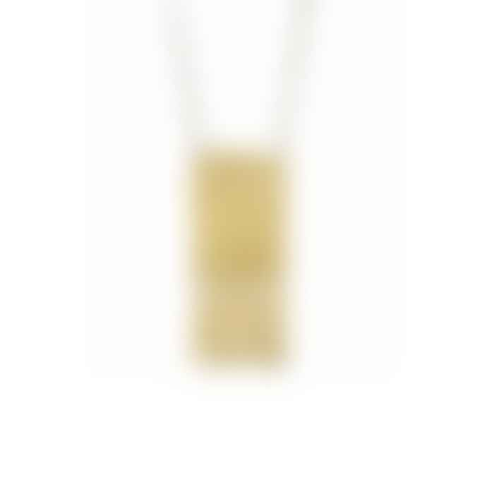 Just Trade  Fringe Rectangle Pendant Necklace