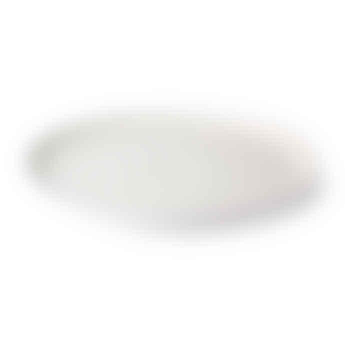 HK Living Bold & Basic Ceramics Speckled Bowl, Breakfast and Dinner Plate White Set of 3