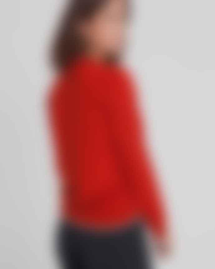 Thinking Mu Pureed Pumpkin Knitted Sweater