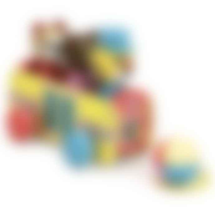 Vilac Multicolor Towing Bus To Train Toy