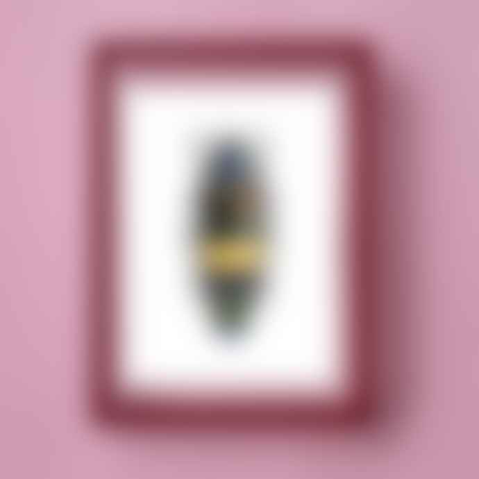Moebe Deep Red A4 frame + Liljebergs print (5 variants)