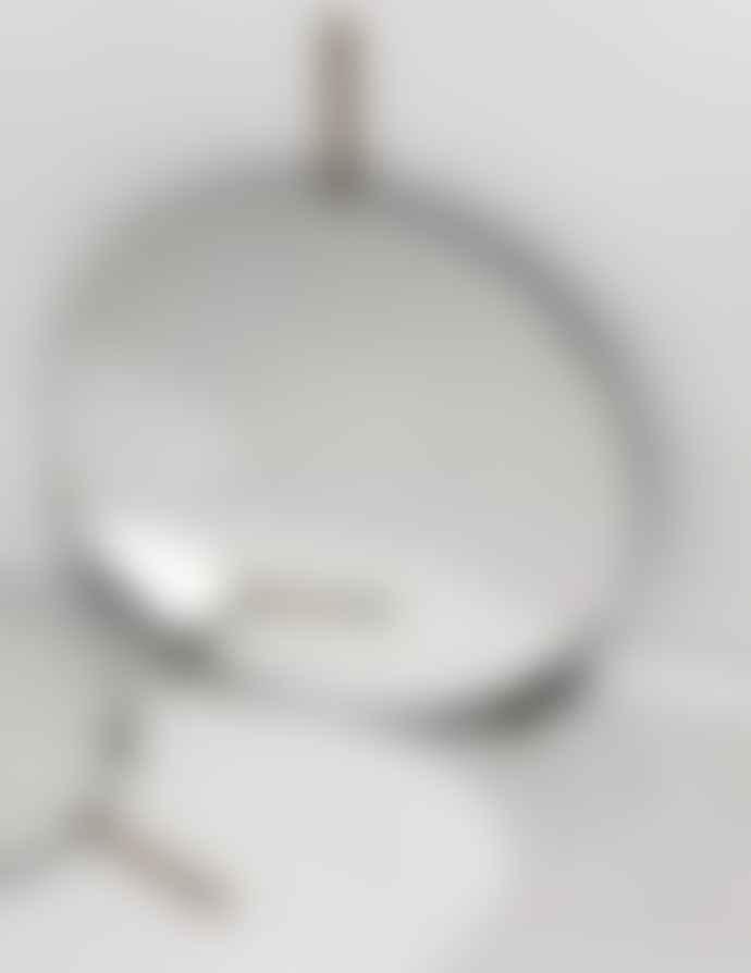 Moebe Brass Wall Mirror 50cm