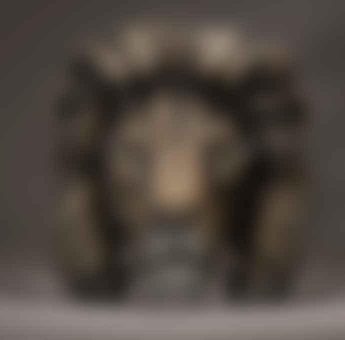 Edge Lion Bust Savannah Sculpture