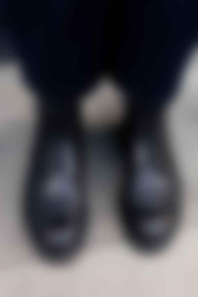 Vagabond Alex Brogue Black Boots
