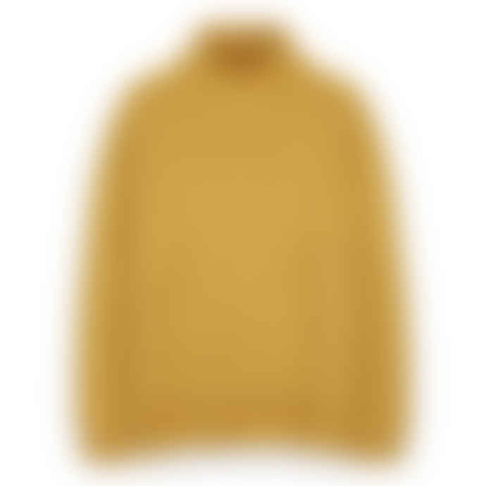 Freight HHG Ochre Womens Plain Knit Lambswool Jumper