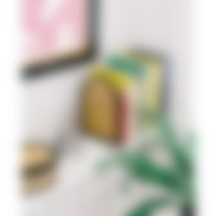 DOIY Design 14.5x19.5cm Rattan Bookends