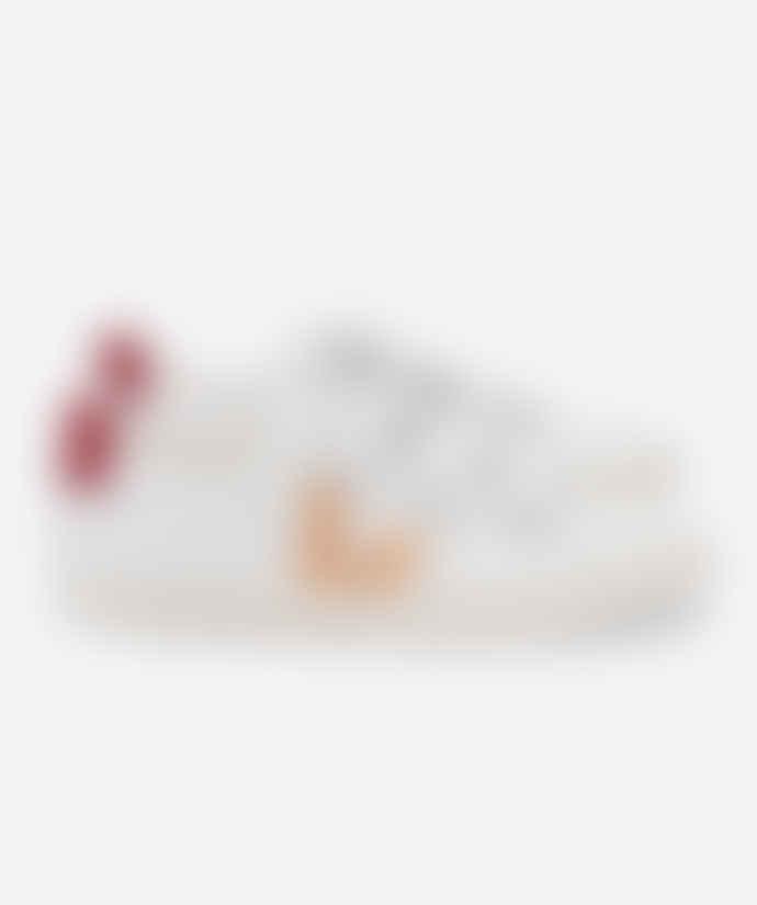 Veja Extra White Venus Marsala Esplar 3-Lock Sneakers