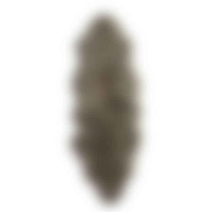 Hanlin Ltd Silky Double Sheepskin Rug Taupe
