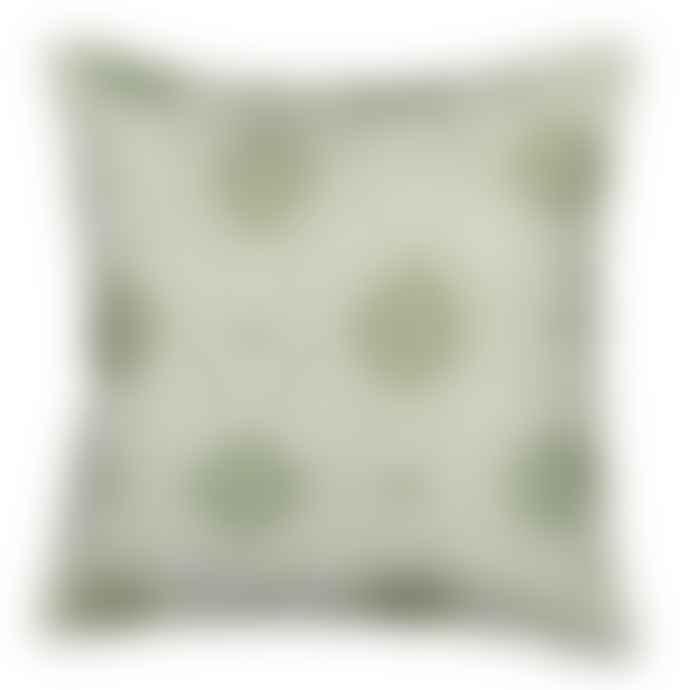 Trendy Pillows Zavora Water Green Cushion Cover