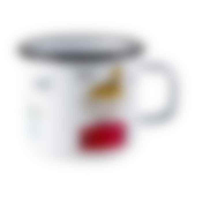 Muurla Moomin Little My Retro Enamel Mug