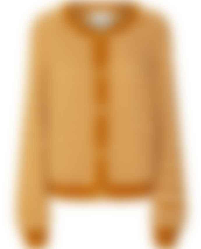 Lollys Laundry Nova Mustard Cardigan