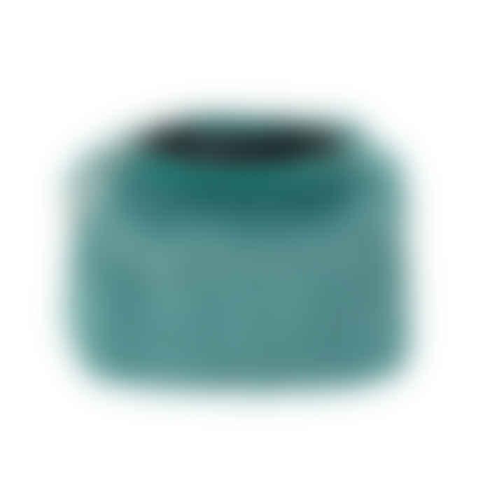 Faux Fur Luxury Coin Purse Sea Green