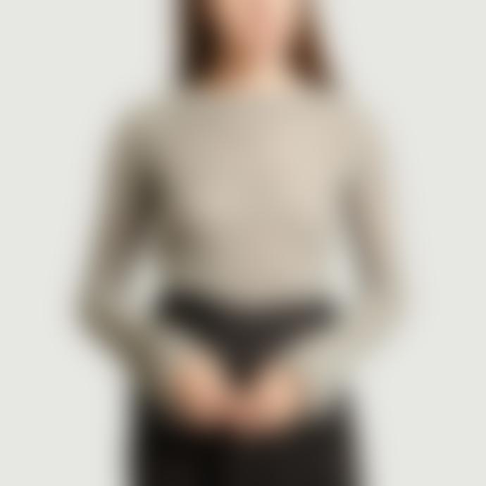 By Malene Birger Grey Nasa Openwork Sweater