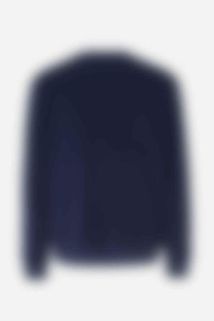 SamsoeSamsoe Mens Geir Night Sky Melange Sweatshirt