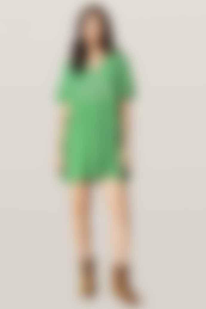 BA&SH Green Talia Dress