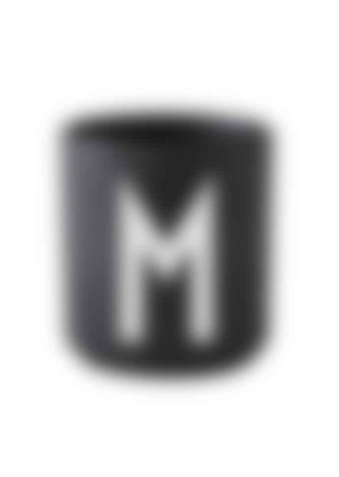 Design Letters Porcelain Mug M Black