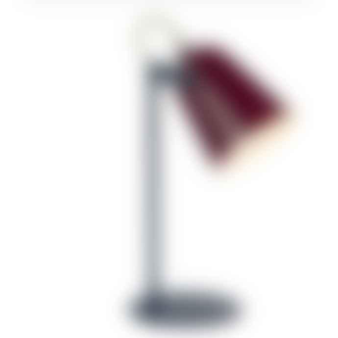 Fisura Chloe Aubergine Lamp