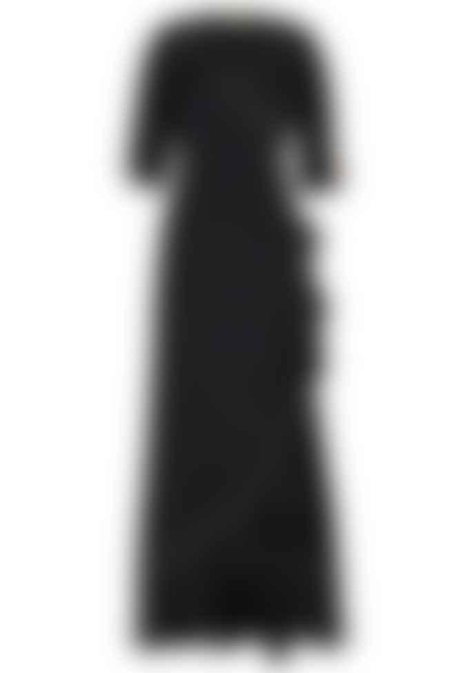Stardust Sweetheart Flamenco Dress Black Gold