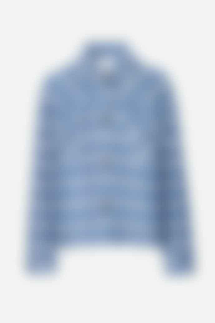 SamsoeSamsoe Leonie Zen Blue Check Jacket