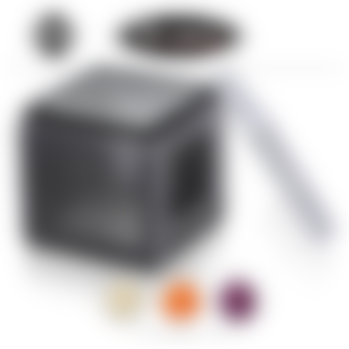 Microplane Cube Grater Fine Course Ribbon Black