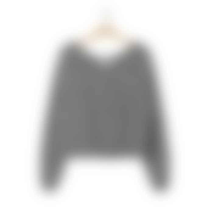 American Vintage Zazo 235 Sweater Heather Grey