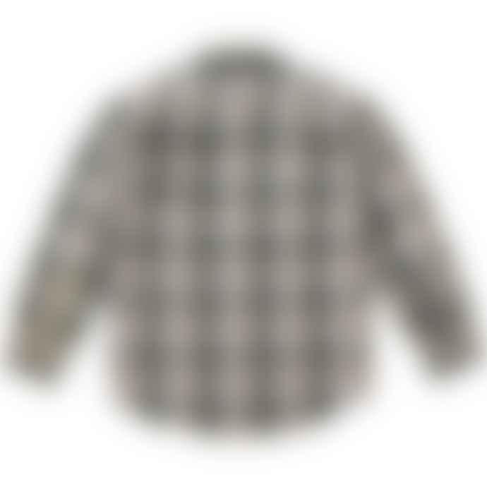 Filson Lightweight Kitsap Work Shirt Olive Khaki Check