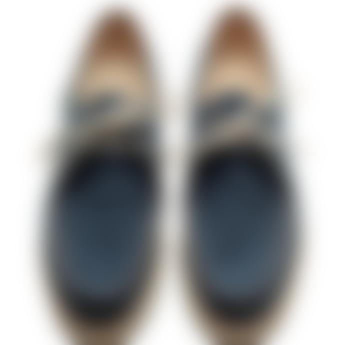 Paraboot Denim Blue Michael Derbies Shoes