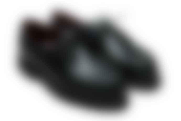 Paraboot Black BBR Michael Derbies Shoes