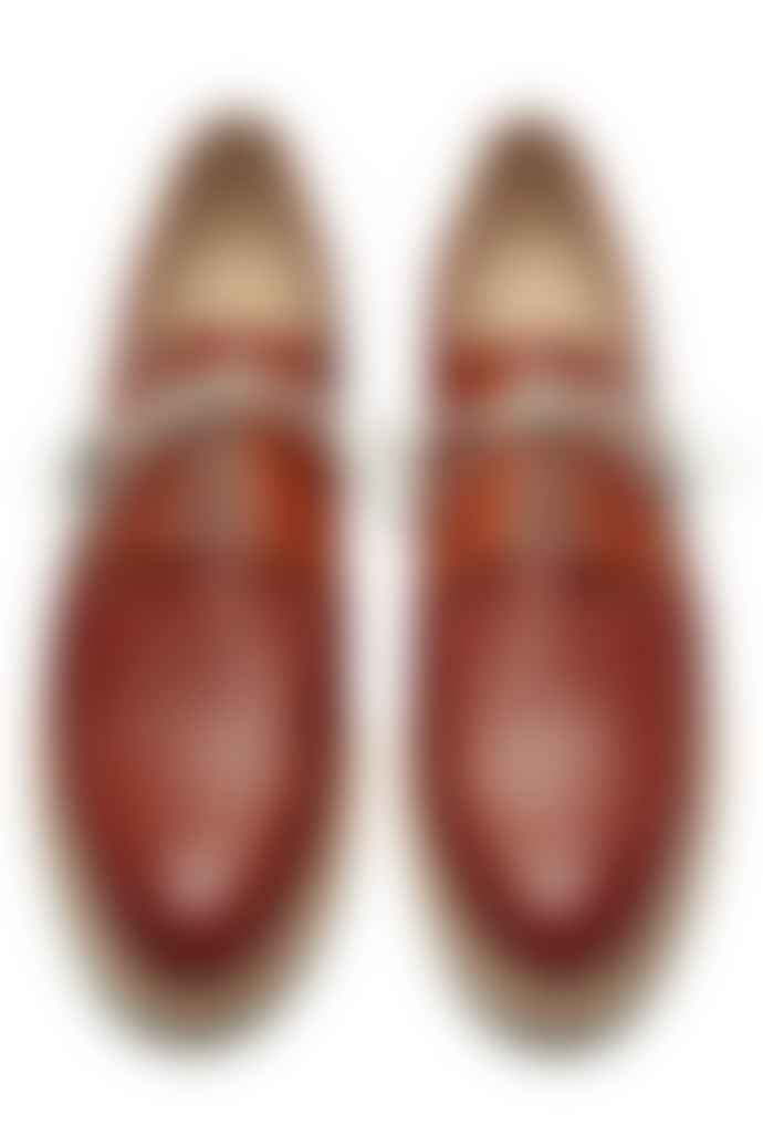 Paraboot Brown Issey Derbies Shoes