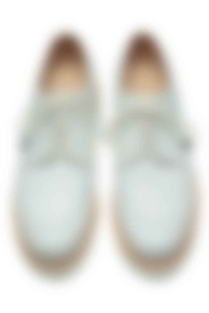 Paraboot White Laser Chambord Derbies Shoes